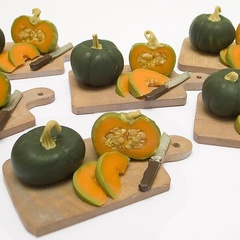 Pumpkin Small Prep Board