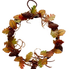 Image of Autumn Wreath, finished