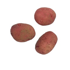 Image of Potatoes, red, Clean pk3