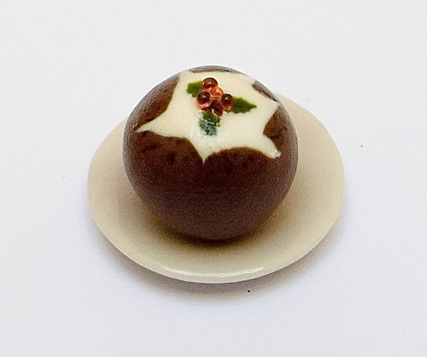 Miniatures Market Place html Speciality or Novelty, Xmas Pudding