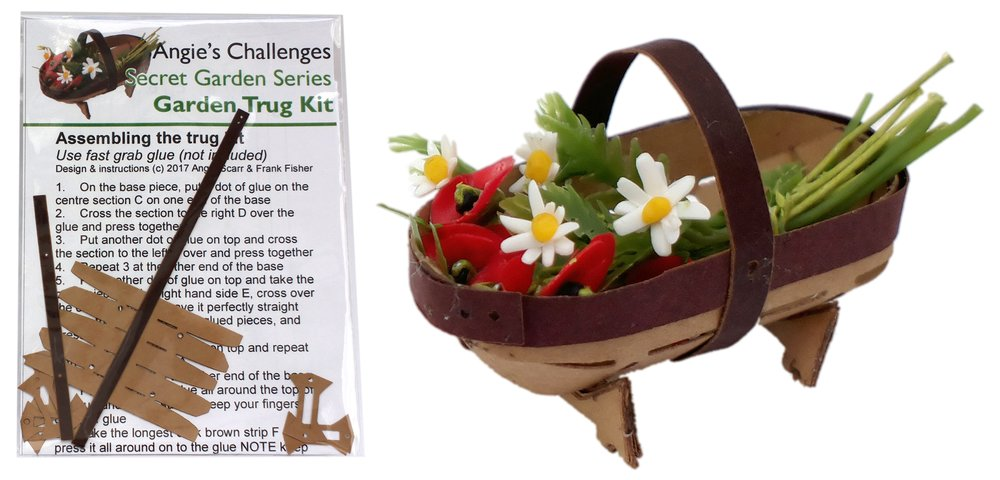 TX NEW Kits html Kits, Secret Garden Trug Kit