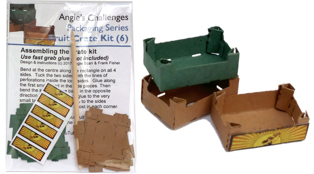 TX NEW Kits html Kits, Packaging - Crates Kit, Small, pk6