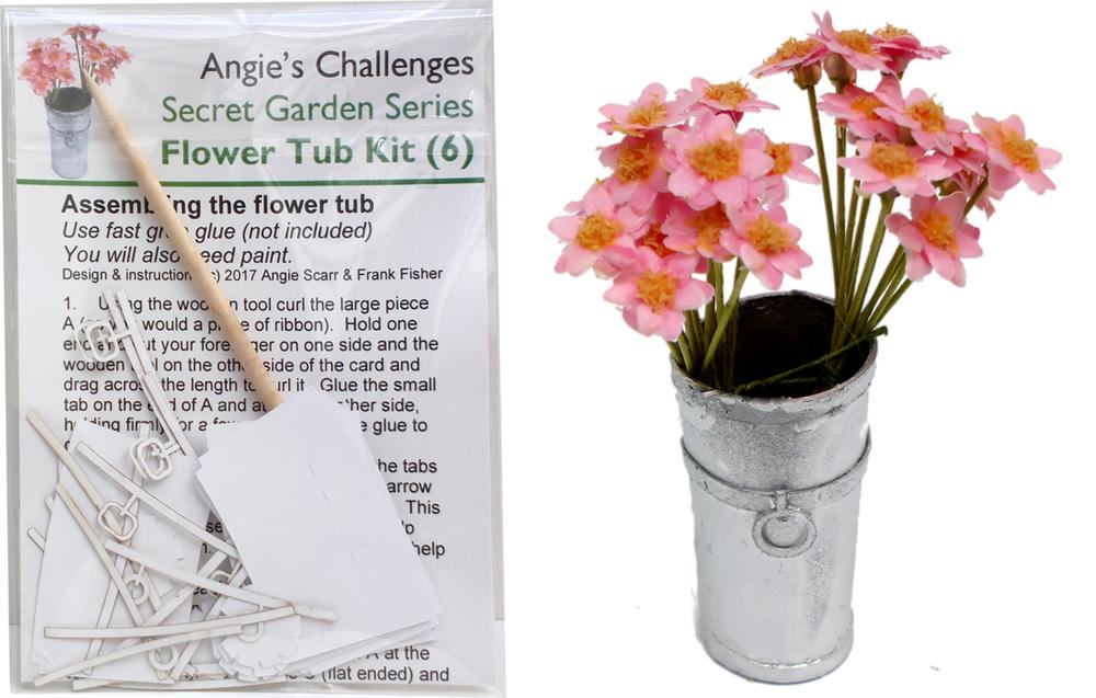 NEW Kits html Kits, Flower Tub Kits pk6