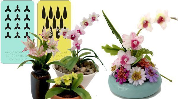 FEATURED ITEM OF THE DAY Orchid Stencils
