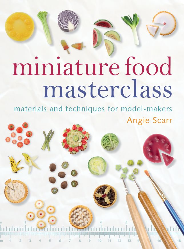 TX index html Books and DVDs, Miniature Food Masterclass Book