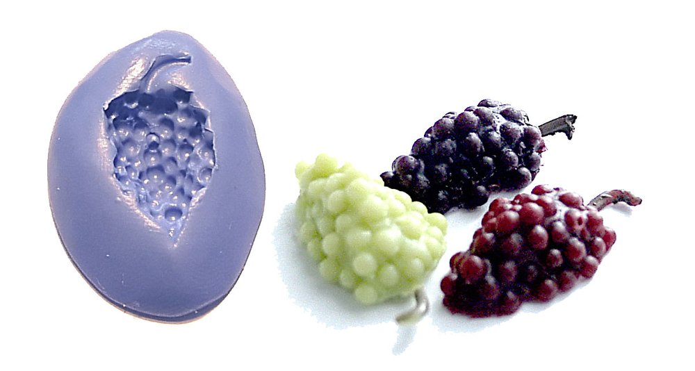 Craft Tools and Moulds html Moulds, Grapes Mould