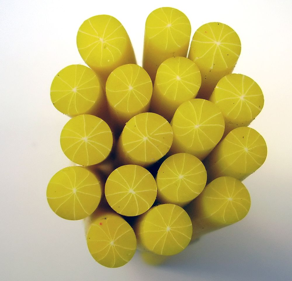 Canes  Fine and Superfine Slices html 6277, lemon skinless MultiCane