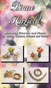 TX index html Books and DVDs, Diane Harfield - Miniature Flowers and Plants